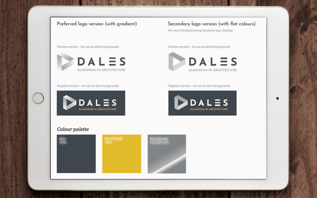 Dales branding by CDP