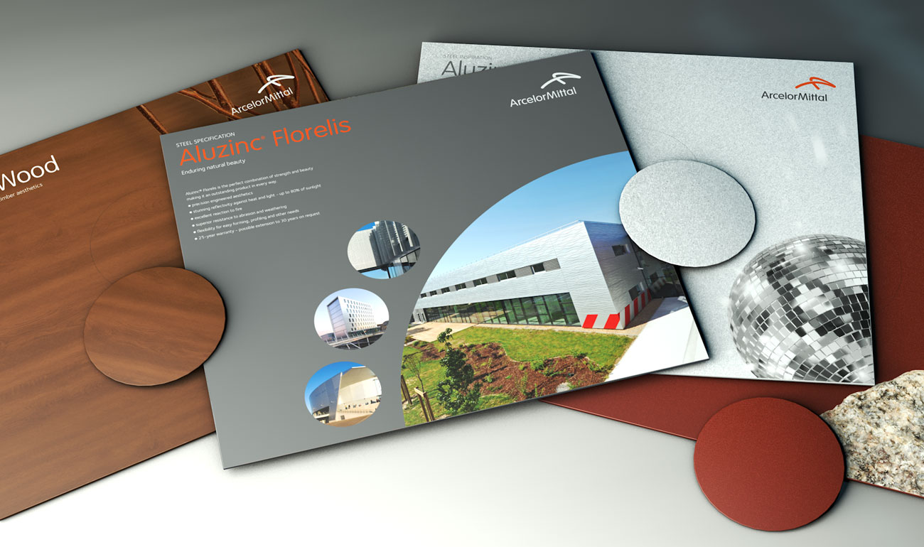 ArcelorMittal construction industry literature