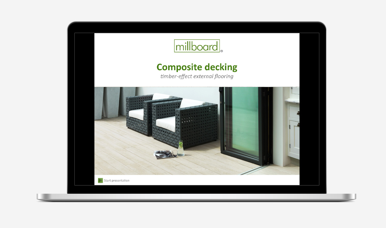 Millboard presentation by CDP