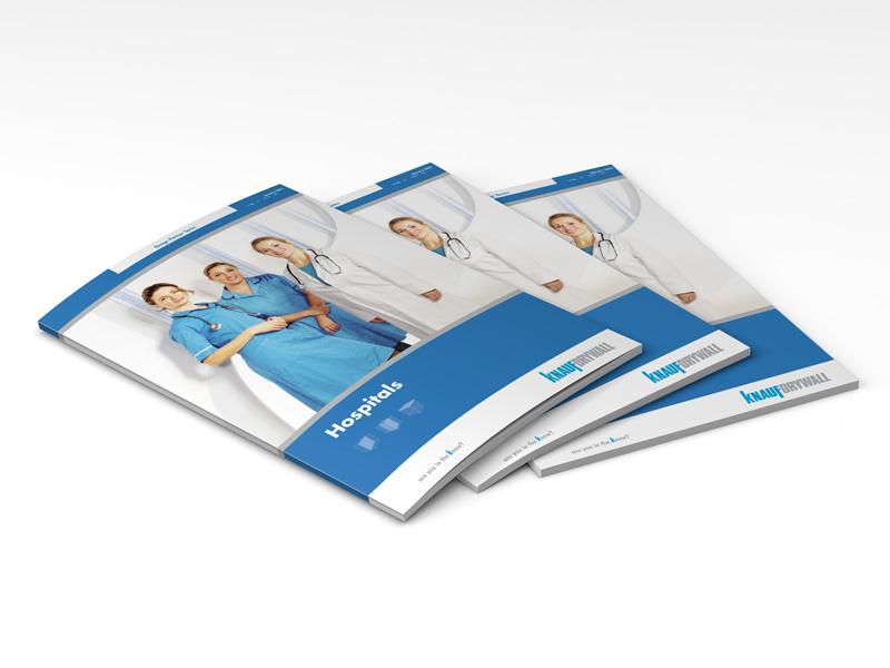 Knauf healthcare sector brochure