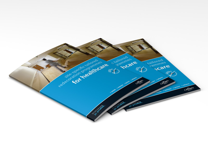 Crown healthcare sector brochure